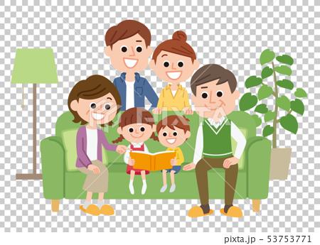 三代家庭沙發 53753771