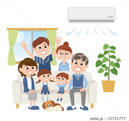 三世代家族 エアコン 53753777