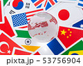 地球 国旗 53756904