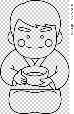 男性キャラクター茶道 53757816