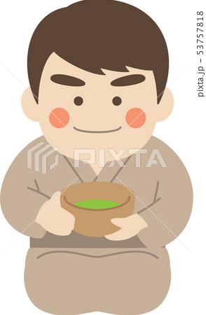 男性キャラクター茶道 53757818