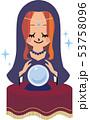 女性占い師 53758096