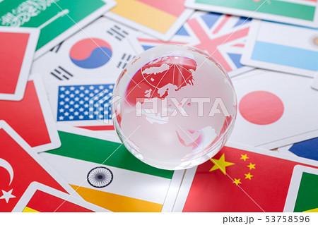 地球 国旗 53758596