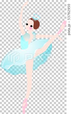 芭蕾舞芭蕾舞演員服裝藍色 53762950