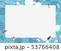 金魚 和 丸のイラスト 53766408