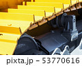 track equipment installed on a tractor, excavator   53770616