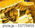 track equipment installed on a tractor, excavator   53770650