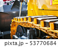 track equipment installed on a tractor, excavator   53770684