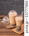 台灣 小吃 珍珠奶茶 boba milk tea tapioca タピオカ ミルクティー ストロー 53777860