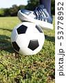 サッカー (スポーツ 運動 球技 エクササイズ ダイエット トレーニング コピースペース ボール) 53778952