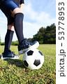 サッカー (スポーツ 運動 球技 エクササイズ ダイエット トレーニング コピースペース ボール) 53778953