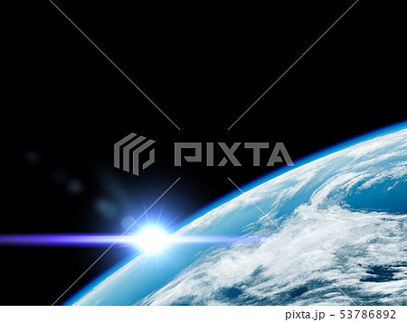 宇宙から見た地球 53786892