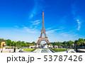 パリ エッフェル塔 塔の写真 53787426