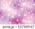 光 泡 キラキラ 背景 ピンク 53789547