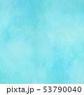背景-テクスチャ-紙-水彩-ブルー 53790040