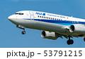 飛行機 旅客機 航空機の写真 53791215