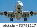 飛行機 旅客機 航空機の写真 53791217