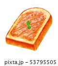 トースト フレンチ 厚切り 山型 53795505