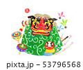 獅子舞と玩具 53796568