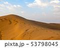 Thar Desert and Blue Sky 53798045