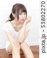 女性 女の子 ヘアスタイルの写真 53802270