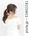 若い女性 ヘアスタイル 53802281