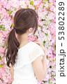 若い女性 ヘアスタイル 53802289