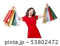 ショッピング 買い物 買い物袋の写真 53802472