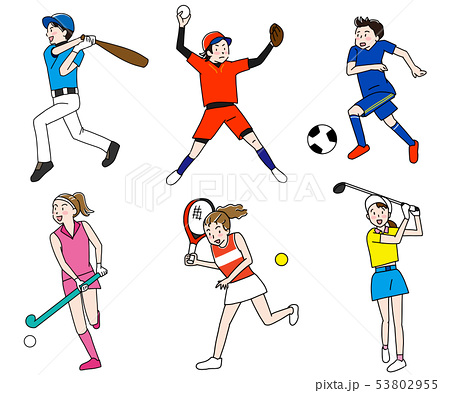 野球・サッカー・ゴルフ・テニス