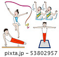 オリンピック体操競技表現競技 53802957