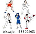 オリンピック武道・格闘技競技 53802963