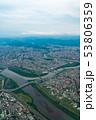 台湾 台北市街地航空写真 53806359