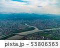 台湾 台北市街地航空写真 53806363