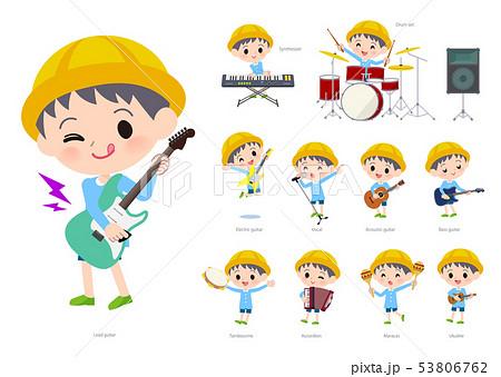 Nursery school boy_pop music 53806762