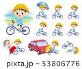 Nursery school boy_city cycle 53806776