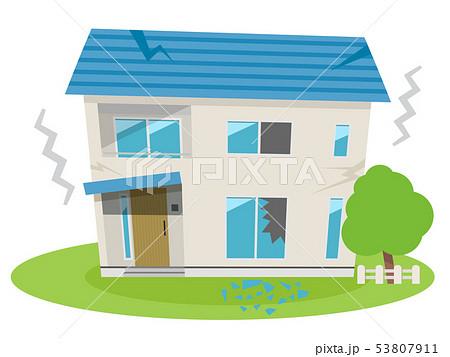 住宅(地震被害) 53807911