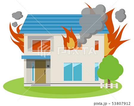住宅(火災被害) 53807912