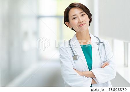 女医 医療 メディカルイメージ 53808379
