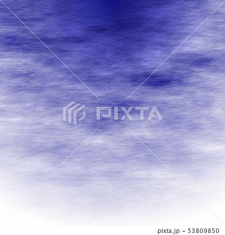 和紙 和柄背景 藍色 53809850