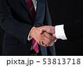 ビジネス ビジネスマン 握手の写真 53813718