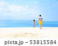 海 夏休み 海水浴の写真 53815584