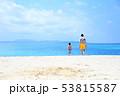 ビーチ 男の子 走るの写真 53815587