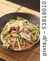 冷しゃぶ蕎麦 53818010