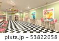 レストラン 屋内 店内のイラスト 53822658
