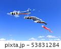 青空 鯉幟 端午の節句の写真 53831284