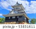 【静岡県】新緑の浜松城 53831611