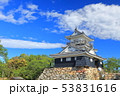 【静岡県】新緑の浜松城 53831616