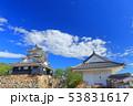 【静岡県】新緑の浜松城 53831617