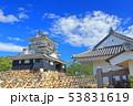 【静岡県】新緑の浜松城 53831619