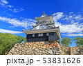【静岡県】新緑の浜松城 53831626